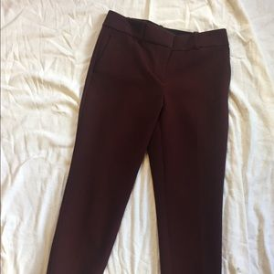 Ann Taylor Kate fit pants, 2 thread pulls